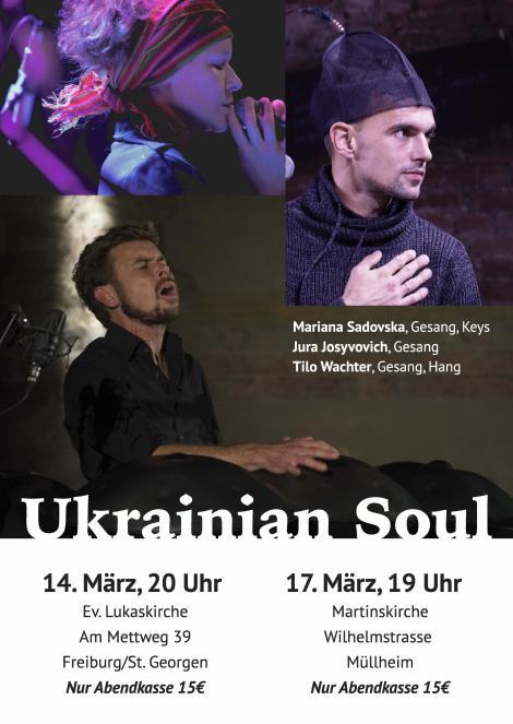 Konzert Sadovska, Wachter, Josyfovych