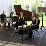 Musikalisches Opfer mit Pia Scheibe, Gottfried von der Goltz, Annekatrin Beller und Prof. Christoph Wolff