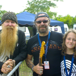 Billy Gibbons and Adrian Dehn