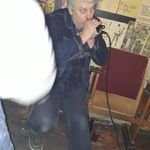 """ein weiterer Gast """"Hummel"""" von der Bocka Blues Band"""