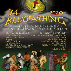 offizielles Bluesfaschingplakat