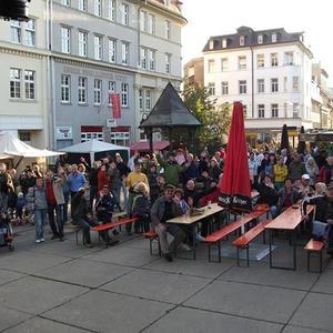 Gera Höhlerfest 2013 - bespasstes Publikum