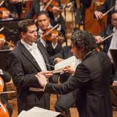 Mit Maestro Gustavo Dudamel
