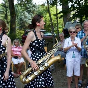 Jazzfrühschoppen, Trelde (Foto: B. Hellwage)
