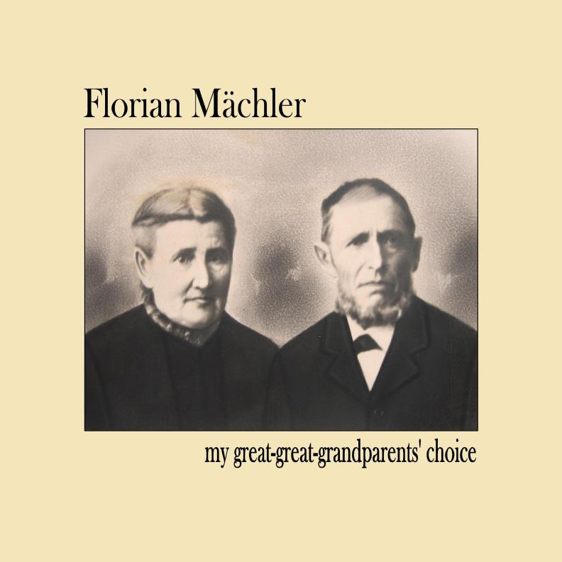 "Florian Mächler ""my great-great-grandparents' choice"""