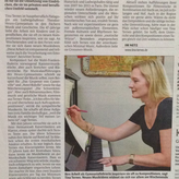 Artikel in de Rheinpfalz, Juni 2017
