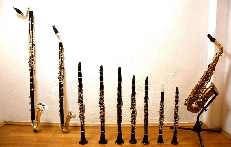 Die Klarinettenfamilie