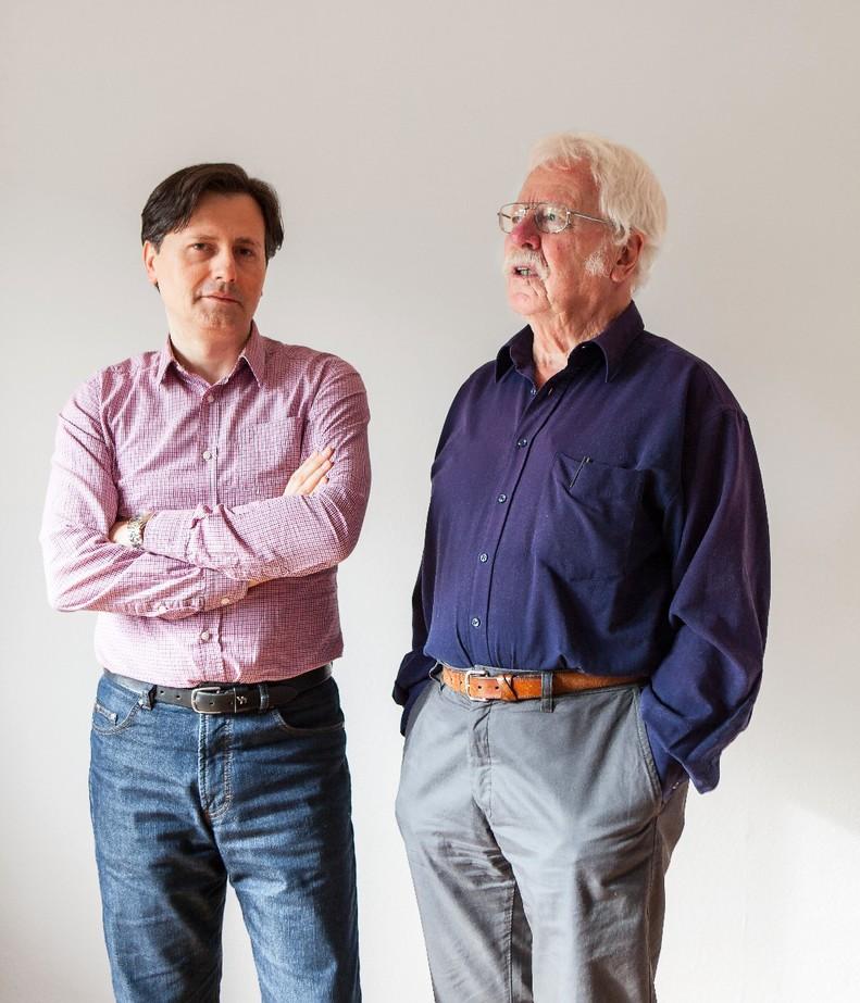Adnan Pintul und Dieter Brumm / Foto Caroline Frank