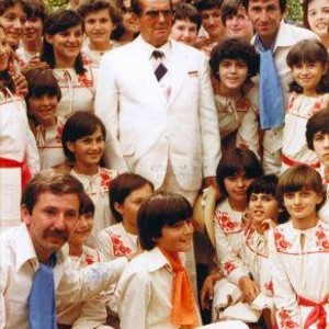 "Ansambl ""Mostarske kiše"" i Josip Broz Tito, 04.07.1978."