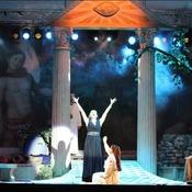 Barbara Felicitas Marín - Bühnenfoto Königin der Nacht