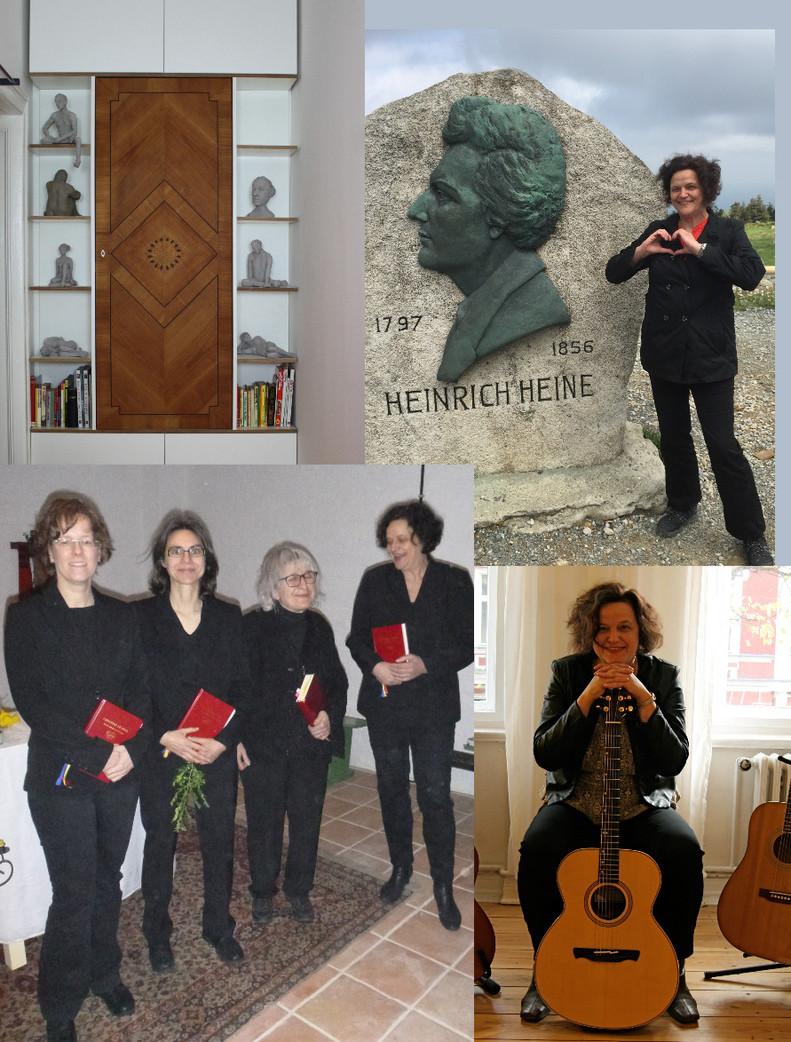 Frauenschola St. Annen/Songwriter/Skulpturen/Texte