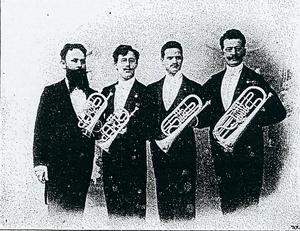 Kaiser-Cornet-Quartett, 1906