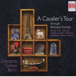"CD-Cover ""A Cavalier's Tour"""