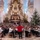 Anspielprobe in der Basilika von Gößweinstein (Foto: Nele Tröger)