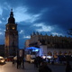 Der Rathausturm bei Nacht