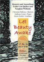 Let Beauty Awake - Plakat