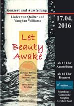 Plakat Let Beauty Awake