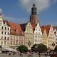Die Altstadt von Breslau mit Elisabeth-Kirche