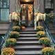 Thanksgiving und Halloween setehn vor der Tür