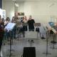"""Beim Dirigierunterricht für den Landesmusikrat (""""Förderung junger Ensembleleiter*nnen"""")"""