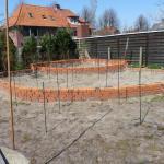"""vorbereitende Arbeiten - Trockenmauern - für die Rotwein""""ecke"""""""
