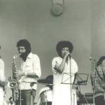 1979...Ergo mit Geli und Herrn Fränzel & Bläserfreund