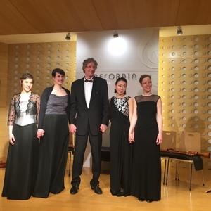 Boreas Quartett Bremen and Han Tol