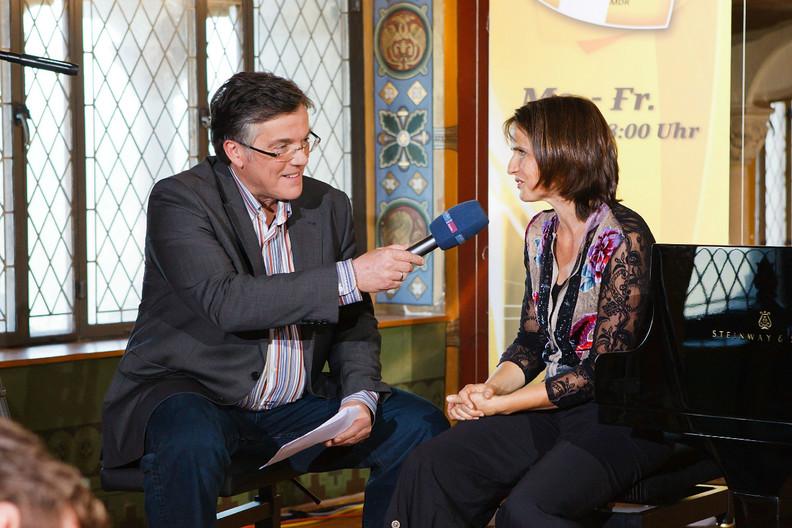 """Interview mit Th. Bille/ MDR zur CD """"Rosenmond und Lindentraum"""""""