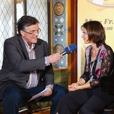 Interview mit Thomas Bille/ MDR Figaro; Foto: M. Prosch