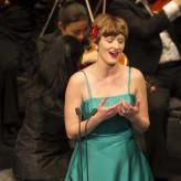 Sophia Körber im Finalkonzert Bundeswettbewerb Gesang Berlin 2014, Foto: Matthias Heyde