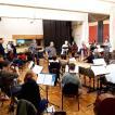 Proben in Brüssel mit Les Muffatti, Peter van Heyghen und Vox luminis