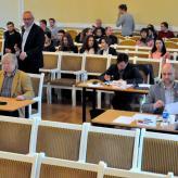 Jury Vilnius mit Friedrich Lips, Raimondas Sviackevicius, Boris Lenko