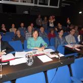 Jury Akkordeonfestival Innsbruck mit Frederic Deschamps, Frank Nebl, Kimmo Mattila