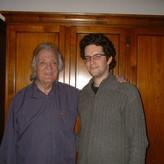 mit meinem verehrten Lehrer Nicolai Gedda
