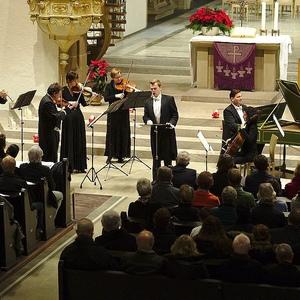 "Barockgala mit dem Ensemble ""concerto galante""Schorndorf 5.12.2015"