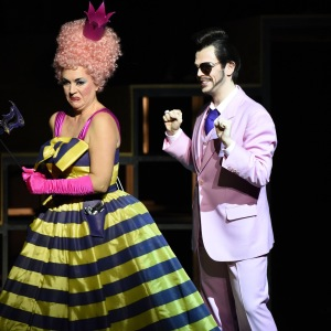 """""""Die Liebe zu drei Orangen"""" 06.01.2019, Nationaltheater Mannheim. Mit Julia Faylenbogen als Clarice"""