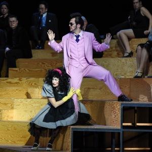 """""""Die Liebe zu drei Orangen"""" 06.01.2019, Nationaltheater Mannheim. Mit Jelena Kordic als Smeraldina"""