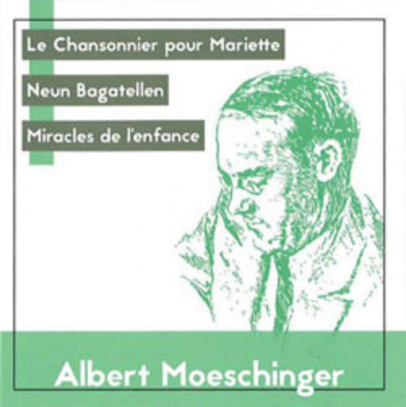 CD-Cover Albert Moeschinger