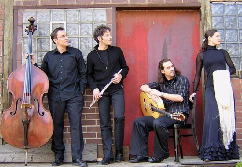 Markus Lechner spielt bei madrugá flamenca
