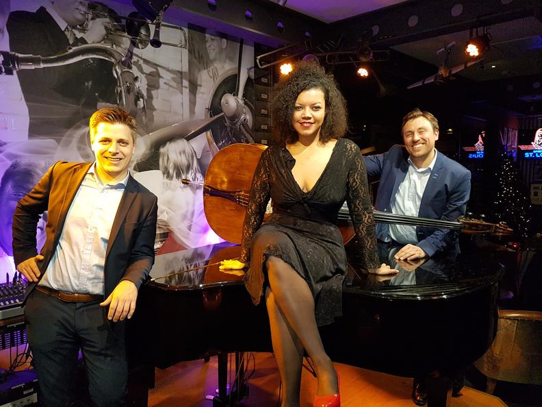 """Markus Lechner in der Band """"Pilots of Jazz"""""""