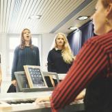 Gesangsensemble im Musiclab // Foto: Felix Groteloh