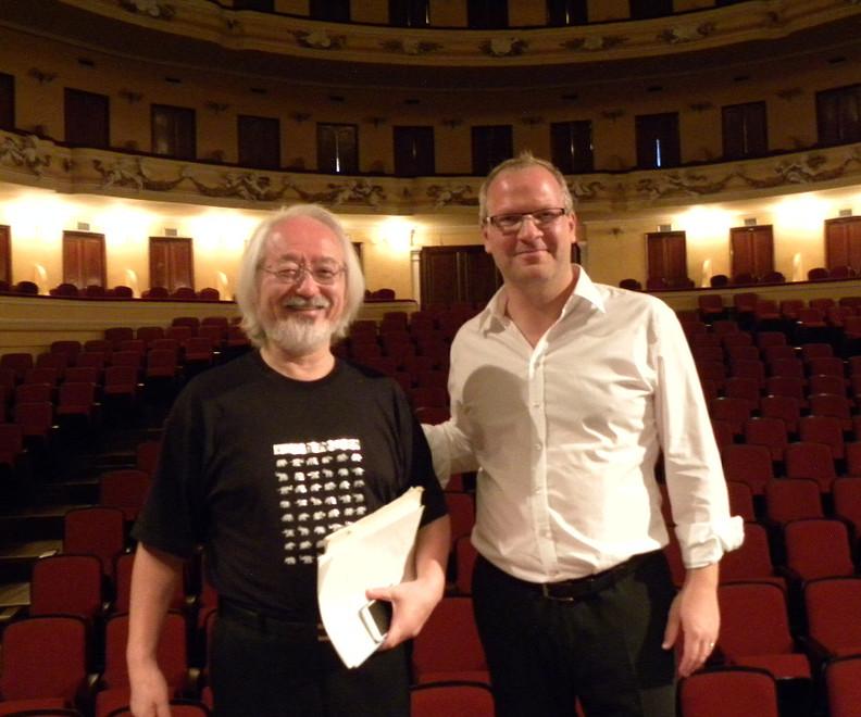 Mit Maestro Masaaki Suzuki