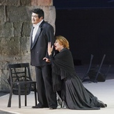P. Mascagni: Cavalleria rusticana / Santuzza - Opernfestspiele Bad Hersfeld (rodafoto) mit Byoung-Nam Hwang