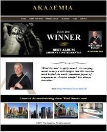Akademia Award für Wind Dreams