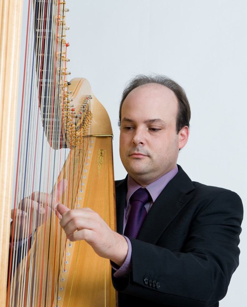 Simon Bilger, Harfe