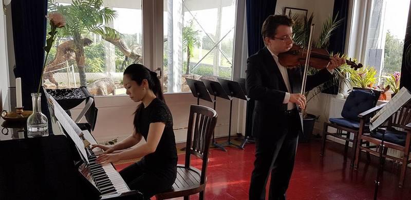 Sergei Bolotny violin Keiko Sakuma piano foto Helma Leutscher