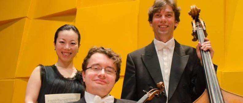 Sergei Bolotny violin Keiko Sakuma piano Sven Otte contrabas photo Michiel Klep 2013