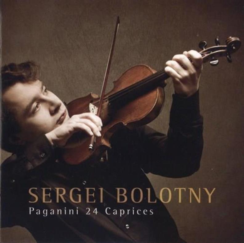 Sergei Bolotny violin Paganini Caprises Preiser Records