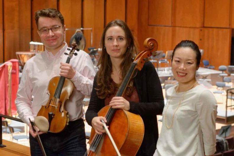 Trio Classique Sergei Bolotny violin Noelle Weidmann cello Keiko Sakuma piano