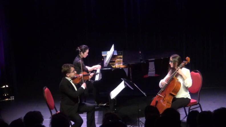Piano Trio Classique Sergei Bolotny violin Keiko Sakuma piano Noelle Weidmann cello